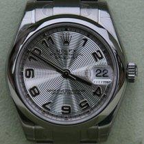 Rolex Midsize Datejust 178240 Women Mens Steel Silver Arabic...