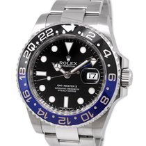 Rolex Oyster Perpetual GMT II 116710BLNR, with Paper