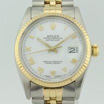Rolex Oyster Perpetual Datejust Automatic Steel-18k Gold 16013