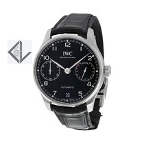 IWC Portugieser Automatic Black Dial - Iw500703