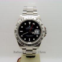 Rolex Explorer II Stahl