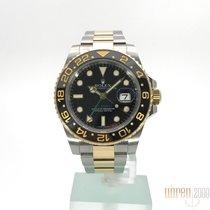 Ρολεξ (Rolex) GMT-Master II Edelstahl Gelbgold 116713LN LC100