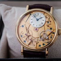Breguet Tradition 18k Gold Skeleteon Power Reserve