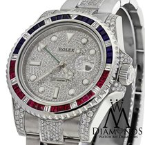 Rolex Men's Origianl Rolex Watch Gmt-master Ii 116710 With...