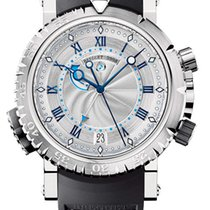 Breguet Brequet Marine 5847 18K White Gold Men's Watch