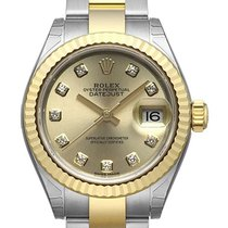 Rolex Lady-Datejust 28 279173 Champagner Diamant