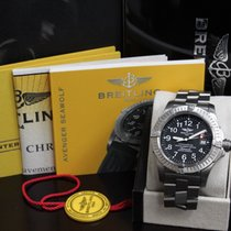 Breitling E17370  Avenger Titanium  Seawolf Box & Papers