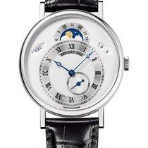 Breguet Brequet Classique 7337 18K White Gold Men's Watch