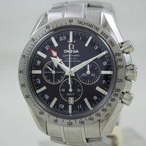 Omega Speedmaster Co-Axial Steel Black Dial Full Set