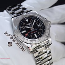 Breitling Avenger II GMT A32390 Black Dial Box & Papers...