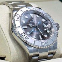 勞力士 (Rolex) Yacht Master 116622 40mm Dark Rhodium Dial Steel...