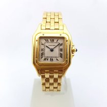 Cartier Panthère Panthere Quartz 18k Gold Lady 1070 22mm