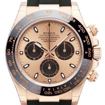 Rolex Daytona 18 kt Rosegold / Oysterflex Ref. 116515LN Pink