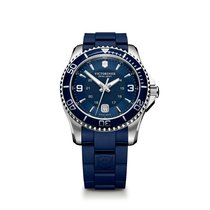 Victorinox Swiss Army Maverick large blue dial, bezel and...