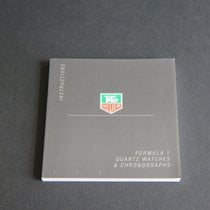 TAG Heuer Instructions Formula 1 Quartz Watches & Chronogr...