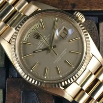 Rolex Day Date Yellow Gold Albino Dial
