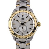 TAG Heuer Link Calibre 6 Small Second White Gold