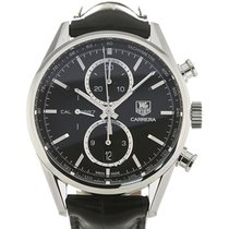 TAG Heuer Carrera 41 Automatic Chronograph Black Dial Calibre...