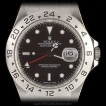 Rolex Explorer II with Black Dial All Stainless