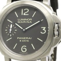 파네라이 (Panerai) Never Used  Luminor Marina 8 Days Titanio Watch...