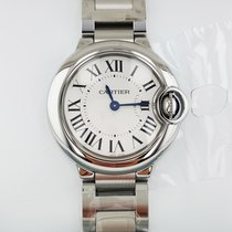 Cartier Ballon Bleu 28 mm  Quartz W69010Z4 Ladies WATCH
