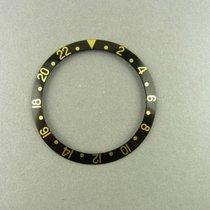 Rolex Gmt Gold Einlage F. Lünette Schwarz Ref. 16753 16758...