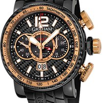 Graham Silverstone Luffield GMT Limited Edition 18K Rose Gold...