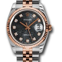Rolex 116231 Datejust Stainless Steel & Everose Gold...