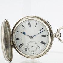 JOHN BENNETT London solid Sterling Silver English Fusee Pocket...