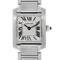 Cartier Midsize Tank Francaise Stainless Steel Non Date Watch