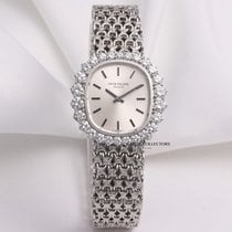 Patek Philippe Lady Ellipse 4137 Diamond 18K White Gold