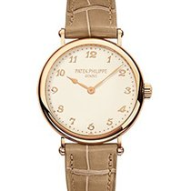 Patek Philippe 7200R-001 7200 Calatrava Ladies - Rose Gold on...