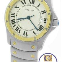Cartier Santos Ronde Round Quartz Two-Tone Stainless Watch...