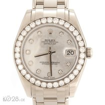 Rolex Pearlmaster 81299 Mother of Pearl Diamonds 34mm  2010 LC100