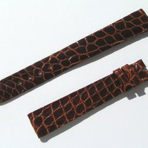 Chopard Croco Band Starp Brown 14 Mm 70/105 New C14-14-70%