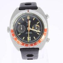 Heuer Autavia GMT Vintage Watch Automatic