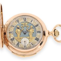 Perrenoud Pocketwatch: high grade pink gold minute repeater...