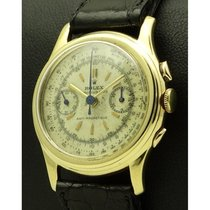 Rolex | Piccolino, Vintage Chronograph Ref.3055,18 Kt Yellow Gold