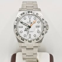 Rolex Explorer II 216570 White Face Rolex Box & Booklets 2016