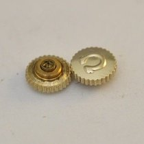 Omega Crown 4.7mm Tap 9 Gold Plated  New Old Stock Nos Original