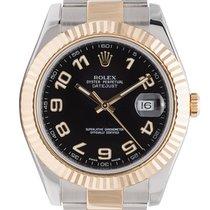 ロレックス (Rolex) Rolex DateJust II 41mm Steel/Gold Black/Arabic...