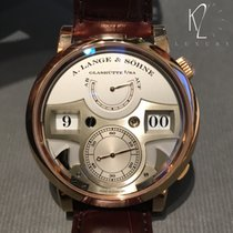 A. Lange & Söhne Zeitwerk Striking Time Rose Gold