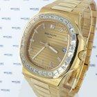 Patek Philippe Nautilus Rose Gold Baguette Diamonds - 5723/1R-001