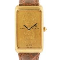 Corum 999.9 Pure Gold 10g Ingot Bar Wrist Watch