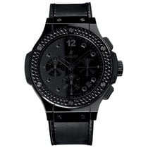 Hublot Big Bang All Black 41mm Automatic Ceramic Mens Watch...