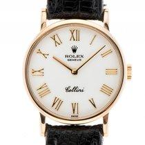 Rolex Cellini Classic Lady 18kt Gelbgold Handaufzug Armband...
