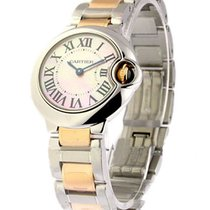 Cartier W6920034 Ballon Bleu Small Size with Pink MOP Dial -...