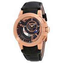 Harry Winston Ocean Dual Time Black Dial Automatic Men's...