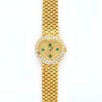 Piaget Yellow Gold Diamond Bezel Heart Design Watch