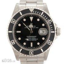 Rolex Submariner Date 16800  Steel 82-Series ca. 1984 incl. Box